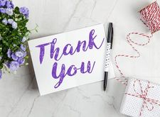 In this age of technology, how do you think thank you-notes for gifts you receive on big occasions (i.e., weddings, baby showers) should be written?
