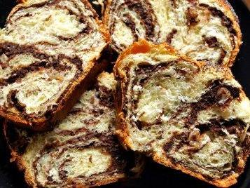 Romanian cake with raisins and Turkish deli…