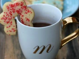 Hanging Coffee Mug Sugar Cookies