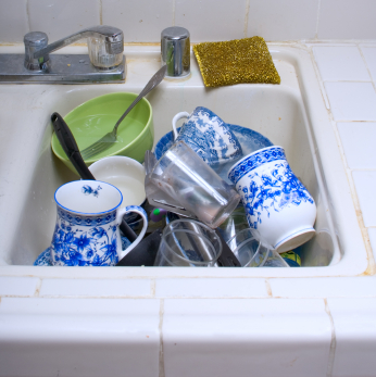 Take Some Time To Smell the Dish Soap: How To De-Stress While Doing the Dishes