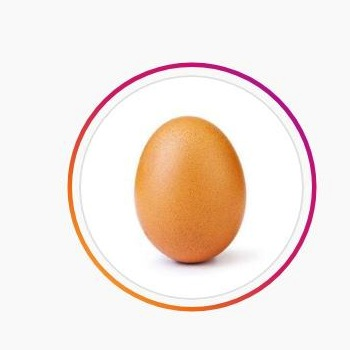How 'Eugene' the Instagram Egg Plans To Do a Little Good