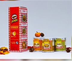 Pringles Thanksgiving in a Can, Going...Goi…