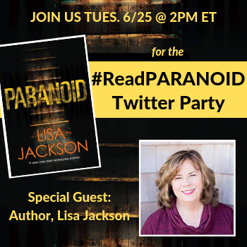 Join Us For The #ReadPARANOID Twitter Party…