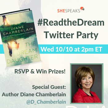 Join Us TODAY For The #ReadtheDream Twitter Party w/ @SheSpeaksUp & @StMartinsPress 10/10 at 2pm ET