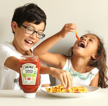 Check out New Heinz Ketchup with a Blend of…