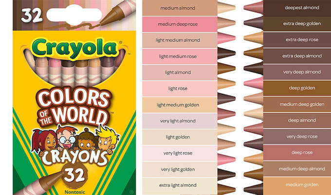 Crayola Is All About Being Inclusive With Their New