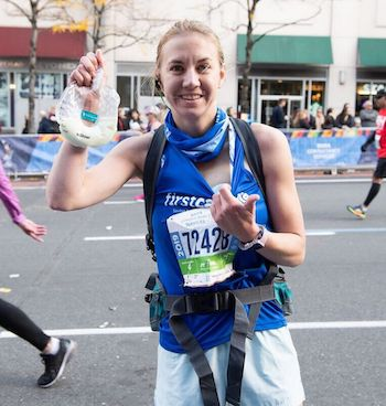 Marathon Mom Manages to Use …