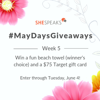 Last #MayDaysGiveaways: Enter to Win a Fun …