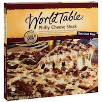 World Table World Table Philly Steak Pizza