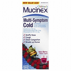Children's Mucinex Multi…
