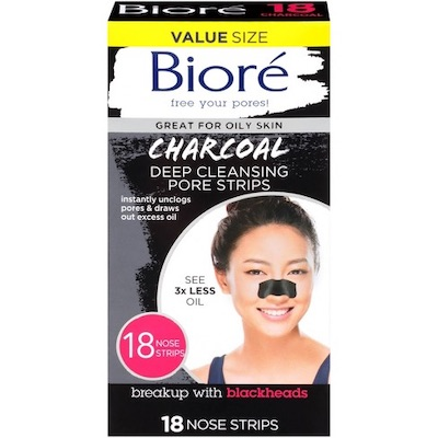 Biore Charcoal Deep Cleaning Pore Strips