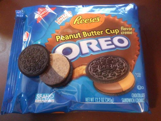 Oreo Reese's Peanut Butter Cup Oreo