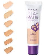 Rimmel Stay-matte mousse foundation