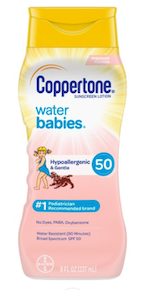 Coppertone Water Babies Sunscreen