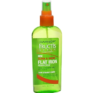 Garnier Fructis Sleek & shine flat iron perfector straightening mist