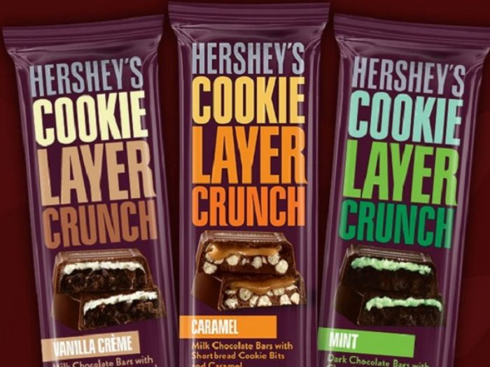 Hershey's Layer Crunch Candy Bars