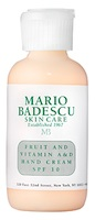 Mario Badescu Skin Care Fruit and Vitamin A&D Hand Cream SPF 10