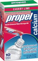 Propel Vitamin Enhanced Water Beverage Mix Cherry Lime