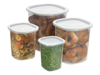 Rubbermaid Stackable Food Canisters