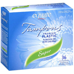 Equate Super Tampon