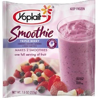 Yoplait Smoothie Triple Berry
